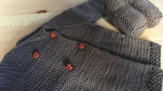 Download Cómo tejer una chaqueta o saquito de bebé ♥ Laura DIY Video