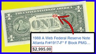 Download $1 Bill WORTH THOUSANDS! Check If You Have One NOW! Rare Dollar Bills Worth Money! Video