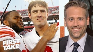 Download 'Danny Dimes' is really good - Max Kellerman apologizes for doubting Daniel Jones | First Take Video