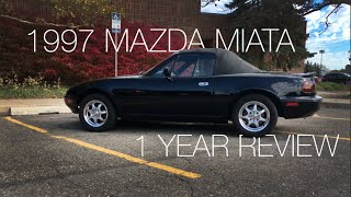 Download 1997 Mazda Miata Full Review | 1 Year of Ownership Video