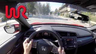 Download 2017 Honda Civic Hatchback (6MT) - WR TV POV City Drive Video