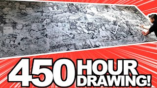 Download I QUIT MY JOB to draw STAR WARS for 450 HOURS! (for real...) Video