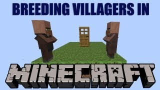 How to breed Villagers in minecraft Free Download Video MP4 3GP M4A