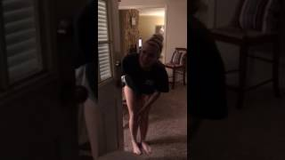 Download Brother comes home early from Navy & surprises sister Video