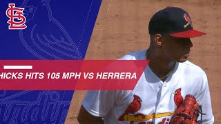 Download Hicks' High Heat: RHP throws 5 fastest pitches of '18 Video