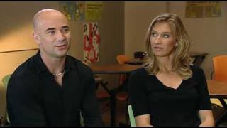 Download Andre Agassi and Steffi Graf on INSIDE SPORT (BBC) - PART 1 of 3 Video