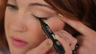 Download How To: Apply Liquid Eyeliner for Beginners Video