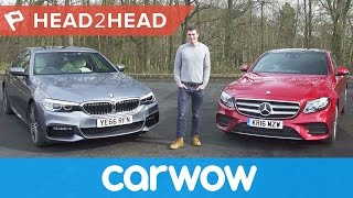 Download BMW 5 Series vs Mercedes E-Class 2018 review - which is best? | Head2Head Video