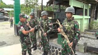 Download PANGDAM XVII CENDERAWASIH KUNKER DI POS PERBATASAN RI PNG Video