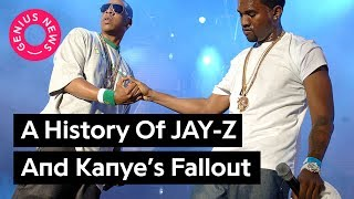 """Download From """"Big Brother"""" to """"Kill Jay Z"""" - A Timeline Of Jay And Kanye's Fallout 