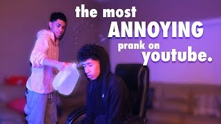 Download PRANKED MY BROTHER WHILE PLAYING FORTNITE 😈 Video