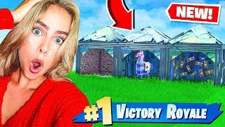 Download Can my GIRLFRIEND Guess which BOX the llama is in?! Fortnite Battle Royale Video