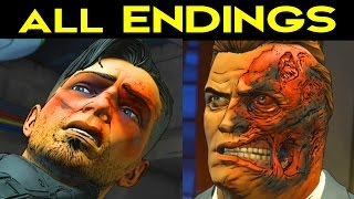 Download BATMAN Telltale Episode 4 ALL ENDINGS - Go to Wayne Enterprises / Go to Wayne Manor Video