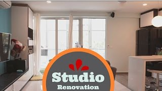 Download Studio Apartment renovation (Before and After ) Video