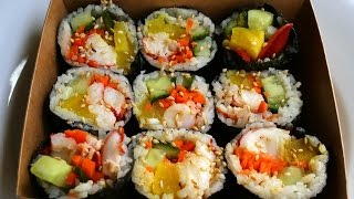 Download Kimbap with Lobster (Gimbap:랍스터 김밥) Video