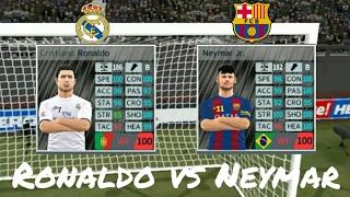 Download Cristiano Ronaldo vs Neymar JR - Skills & Goals - Dream League Soccer 2017 Video