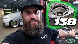 Download REBUILDING THE FD RX-7's 13B ROTARY ENGINE!!!!! Video
