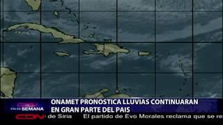 Download ONAMET pronostica aguaceros y ráfagas de viento; continúan recomendaciones en costas Video
