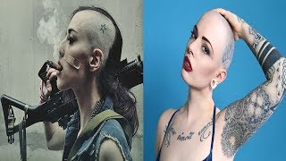 Download HEAD SHAVED STYLES FOR GIRLS (BEST OF 2018) BADASS!!! Video