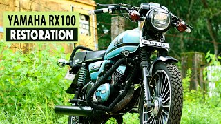 Download Yamaha Rx 100 Bike Alteration|Modified|Restoration Video