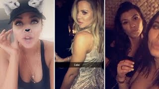 Download Khloe Kardashian | Snapchat Videos | June 25th 2017 | ft Kourtney Kardasian & Khloe's Boyfriend Video