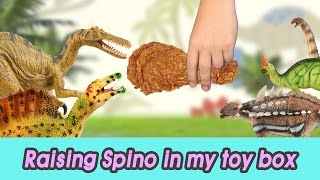 Download [EN] #51 Raising Spino in my toy box! kids education, Dinosaurs animationㅣCoCosToy Video