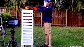 Download Red Hot Cannonball Vs Styrofoam Tower Video