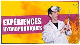 Download Chou, spray & lycopodium : les expériences hydrophobiques d'ExperimentBoy - ChimFizz #14 Video
