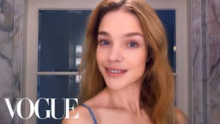 Download How Supermodel Natalia Vodianova Combats Jet-Lagged Skin | Beauty Secrets | Vogue Video