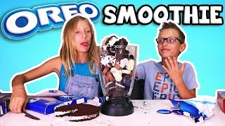Download OREO SMOOTHIE CHALLENGE!!!!! Video