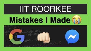 Download Don't Make These Mistakes in IIT (1st and 2nd Year) Video