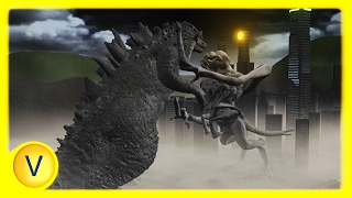 Download Godzilla vs Clover (Cloverfield) - (Animated Battle!) Video