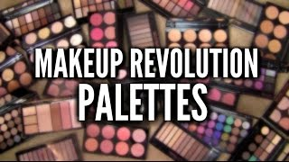 Download MAKEUP REVOLUTION PALETTES: Best, Worst & Everything In-Between Video