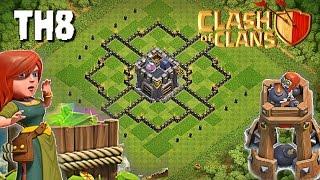 Download TH8 FARMING | IMPOSIBLE SACAR CASTILLO | Diseño de Aldeas | Clash of Clans | DJ man Video