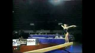 Download Shannon Miller Balance Beam-1997 Reeses Gymnastics - One Moment In Time Video