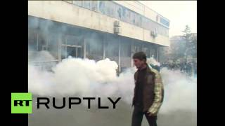 Download Bosnia and Herzegovina: Protest erupts in Tuzla over unemployment Video