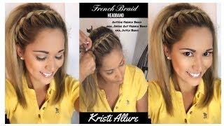 Download Inside Out French Braid Headband by a PRO...my mom the expert! Video
