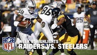 Download Raiders vs. Steelers | Week 9 Highlights | NFL Video