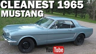 Download Cleanest 1965 Mustang You'll Ever See! Video