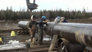 Download Pipeline Welding - High Production Double Joint Yard Video