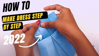 Download Origami Paper Frocks Videos For Kids | How To Make A Origami Paper Dresses Video For Children Video
