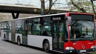 Download [Sound] Bus Mercedes O 530 G (Wagennr. 6825) der Rheinbahn AG Düsseldorf Video
