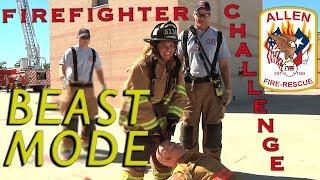 Download Firefighter Agility Test - BEAST MODE !! Allen Fire Department Video