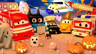Download 1H Scary Car City Cartoons ! 🎃 Special HALLOWEEN 👻 Halloween Cartoons for Children Video