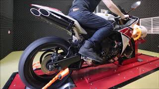 Download 2012 Yamaha YZF-R1 Dyno Run with Toce Slip-On Exhaust & Akrapovic Titanium Linkage Pipe Video