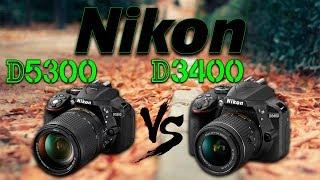Download Nikon D3400 VS D5300 Español! Video