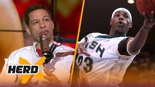 Download Chris Broussard recalls early memories of covering LeBron James | NBA | THE HERD Video