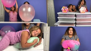 Download MAKING THE WORLDS BIGGEST SLIME STRESS BALLS WITH WUBBLE BUBBLES Video