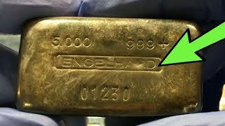 Download RARE $1000+ 5 OZ SILVER ENGELHARD BAR FOUND - Storytime, Information, and Values Video