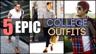 Download 5 EPIC COLLEGE OUTFITS Every Young Man Needs | Classic Men's Look-Book | Mayank Bhattacharya Video